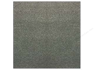 die cutting machines: American Crafts 12 x 12 in. Paper Pow Glitter Solid Charcoal (15 sheets)