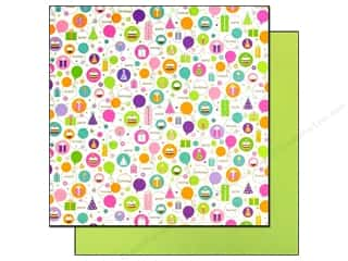 Doodlebug 12 x 12 in. Paper Cake & Ice Cream Hip Hip Hooray (25 sheets)