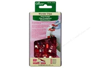 binders: Clover Wonder Clips 50 pc. Red