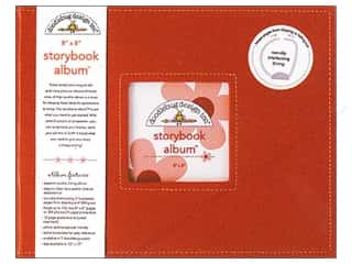 scrapbooking & paper crafts: Doodlebug 8 x 8 in. Storybook Album Ladybug