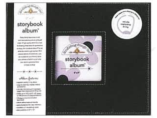 Doodlebug 8 x 8 in. Storybook Album Beetle Black