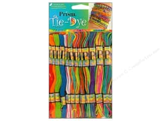 Six Strand Embroidery Floss Pack Tye Dye 36pc by Prism