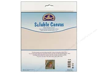 "DMC Soluble Canvas 14ct 8""x 8.5""- Design included."
