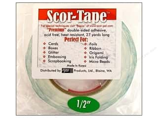 Everything You Love Sale Scor Pal Scor Tape: Scor-Pal Scor-Tape Double Sided Adhesive 1/2 in. x 27 yd.