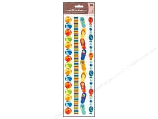 Summer Fun: EK Sticko Stickers Epoxy Border Summer Fun Ribbon