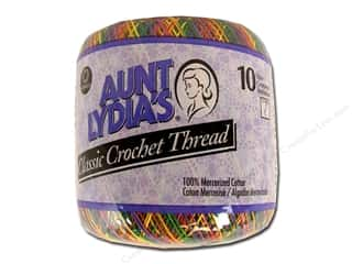 Aunt Lydia's Classic Cotton Crochet Thread Size 10 300 yd. Mexicana