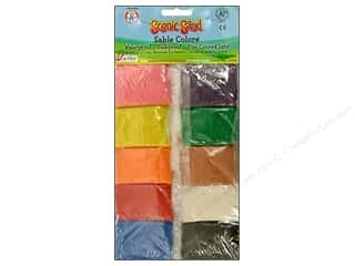 craft & hobbies: Activa Scenic Sand 10 Colors 1 oz. Assorted