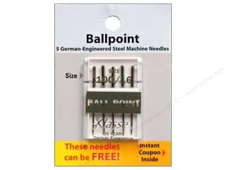 Klasse Ballpoint Machine Needles Size 100/16 5 pc.