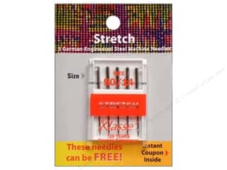 elastic: Klasse Stretch Machine Needle Size 90/14 5 pc.