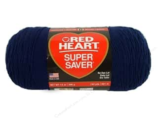 yarn: Red Heart Super Saver Jumbo Yarn 744 yd. #387 Soft Navy