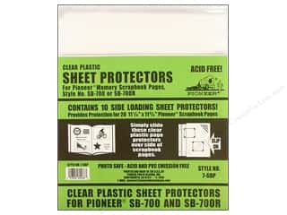 Pioneer Sheet Protector 11.25 in. x 11.75 in. 10 pc