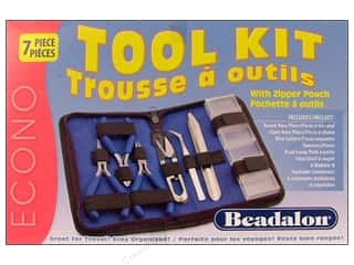 Round Nose Pliers: Beadalon Tool Kit with Zip Pouch