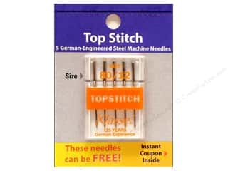 Needle: Klasse Topstitch Machine Needle Size 80/12 5 pc.