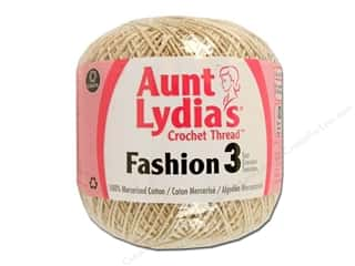 Aunt Lydia's Fashion Crochet Thread Size 3 150 yd. #226 Natural