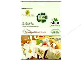 sewing & quilting: Slice Design Card Making Memories Fabrique Vintage Seasons