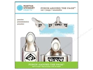 Martha Stewart Punch Around The Page Set Pansy