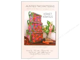 By Annie Soft and Stable: Aunties Two Kraft Krates Pattern