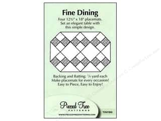 Pieces Be With You: Pieced Tree Tiny Fine Dining Pattern Card