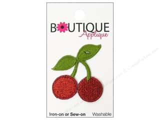 Blumenthal Boutique Applique Red Cherries