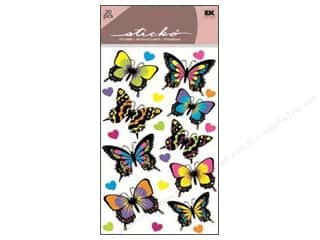 stickers: EK Sticko Stickers Dancing Butterflies