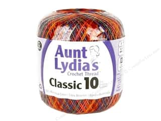yarn & needlework: Aunt Lydia's Classic Cotton Crochet Thread Size 10 300 yd. Passionata