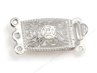 Sweet Beads Fundamental Finding Clasp 3 Strand Silver 5pc