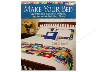 weekly special pillow: That Patchwork Place Make Your Bed Book by Leslee Evans