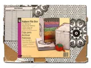 Dritz Pattern File Box 7 5/8 x 12 5/8 x 9 in.