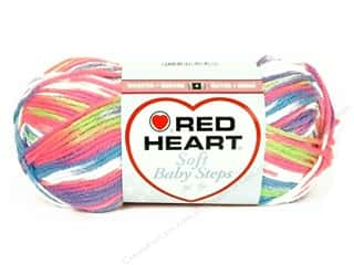 Clearance Red Heart Baby Clouds Yarn: Red Heart Soft Baby Steps Yarn #9937 Giggle 204 yd.
