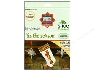 dies: Slice Design Card Fabrique Tis The Season