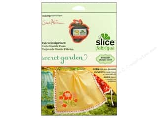 dies: Slice Design Card Making Memories Fabrique Secret Garden