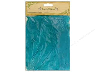 Feathers: Midwest Design Turkey Flat Feathers 14 gm. 4 - 6 in. Turquoise