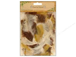 "Feathers: Midwest Design Feather Turkey Flat 4-6"" Earth 14gm"