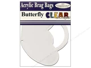 stamp cleared: Clear Scraps Clear Brag Bag Album Butterfly