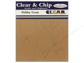 snowflake punch: Clear Scraps Clear N Chip Mix Pack Holiday Treats