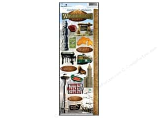 Paper House Cardstock Stickers - Washington State