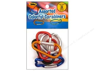 craft & hobbies: Toner Carabiners 8 pc. Assorted