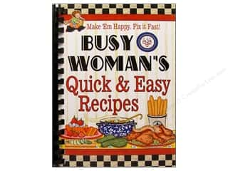 Cookbooks: Cookbook Resources Books Busy Woman Quick & Easy Recipes Book