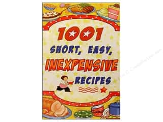 Cookbooks: Cookbook Resources Books 1001 Short Easy Inexpensive Recipes Book