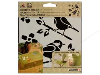 craft & hobbies: Plaid FolkArt Painting Stencils 6 x 6 in. Birds