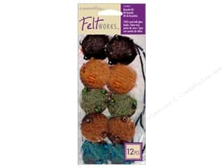 Weekly Specials Needle Felting: Dimensions Feltworks Needle Felting Kits Bead Bracelet Blue/Brown