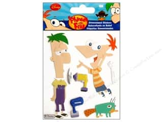 scrapbooking & paper crafts: EK Disney Sticker Phineas and Ferb