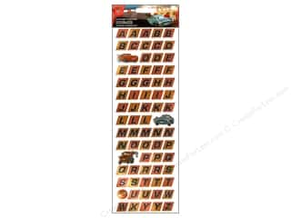 EK Disney Alphabet Stickers Cars