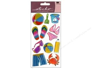 Summer Fun: EK Sticko Stickers Sparkler Summer Fun