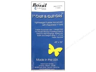 weekly special quilting: Bosal Interfacing Fusible 1 in. Quilting & Craft Grid 48 x 36 in. White