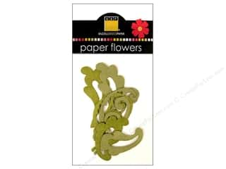 Bazzill embellishment: Bazzill Flowers Paper Leaves 8 pc. Lovely Leaves