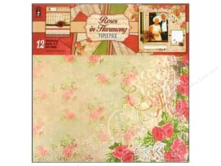 "Hot off the Press  Papers : Hot Off The Press Paper Pack 12""x 12"" Roses In Harmony"