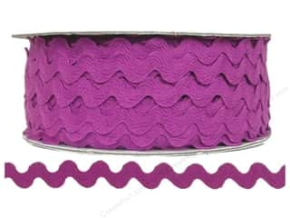 "Cheep Trims Ric Rac 1/2"": Ric Rac by Cheep Trims  1/2 in. Magenta (24 yards)"