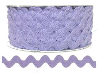 Trim: Cheep Trims Ric Rac 1/2 in. Light Orchid (24 yards)