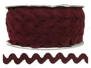 Ric Rac by Cheep Trims  11/16 in. Merlot (24 yards)